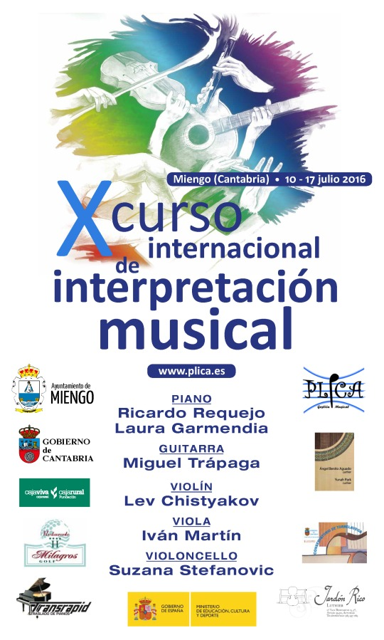 CARTEL CURSO MUSICAL